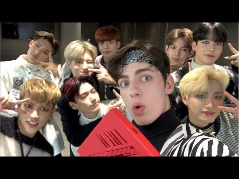 A video with ATEEZ!! (they taught me how to dance)
