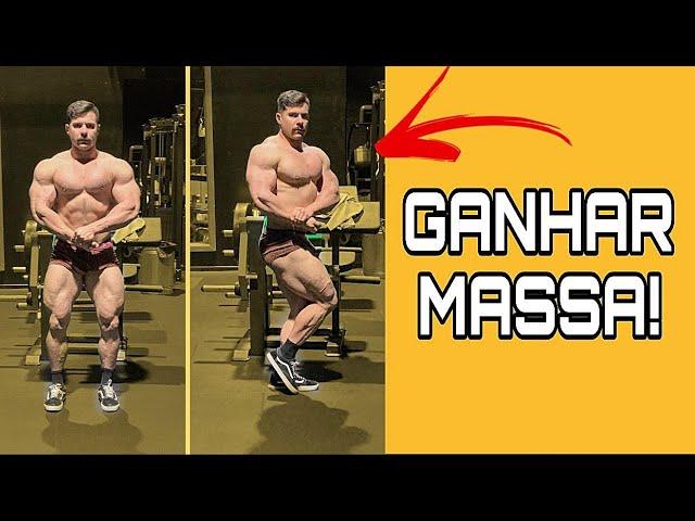 Estratégias e segredos do FISICULTURISTA Fernando Gouveia para aumentar massa muscular - OFF SEASON