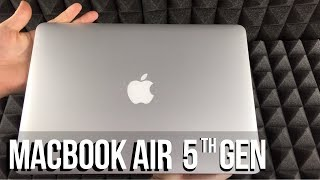 Macbook Air 1.8GHz dual-core 5th-generation Intel Core i5 processor Unboxing