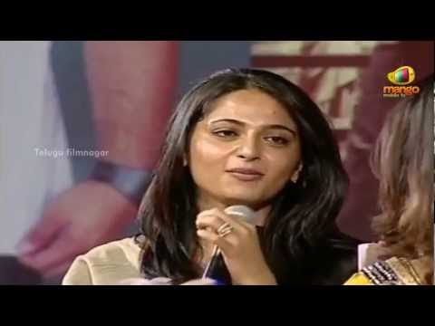 Nagarjuna Greeku Veerudu Audio Launch - Anushka & Priyamani Funny Interview - Nayantara