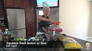 Organic Kale, Lentil And Tortilla Chip Salad