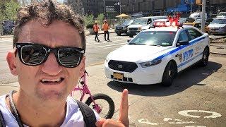 Dear NYPD, FIX THE PROBLEM instead of punishing Cyclists