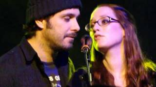"""You See the Light in Me"" -- Greg Laswell and Ingrid Michaelson at Scala in London"