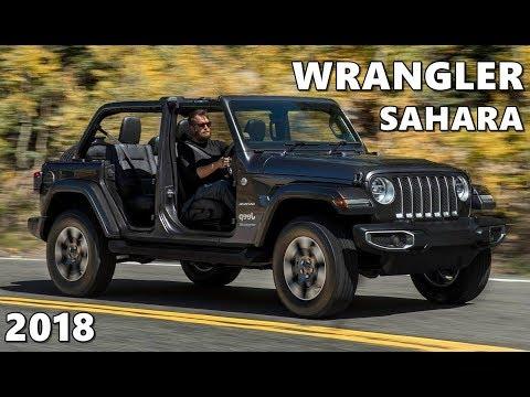 2018 Jeep Wrangler Sahara - Exterior, Interior, Drive