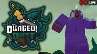 ⚔️DUNGEON QUEST LIVE⚔️|🦑GHASTLY HARBOR🦑|🔴ROBLOX LIVE🔴