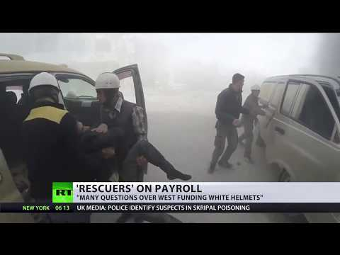 'Rescuers' on payroll: White helmets get $12MN from West despite dubious reputation