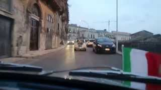 Sicily in a Fiat 500