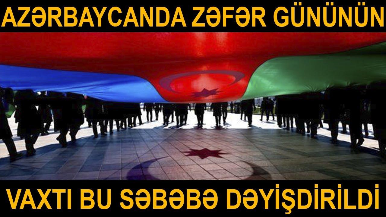 Azərbaycanda Zəfər Gününü dəyişdirildi - RƏSMİ