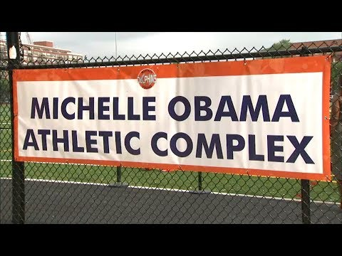Mick Lee - Whitney Young High School Opens Michelle Obama Athletic Complex