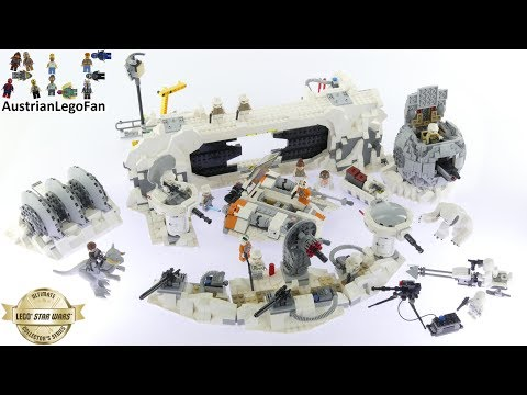 Lego Star Wars 75098 Assault on Hoth™ - Lego Speed Build Review