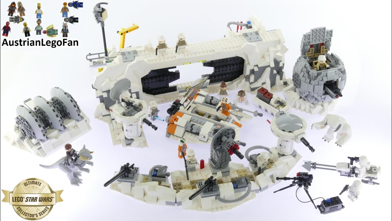 How To Build A Lego Star Wars Rebel Base
