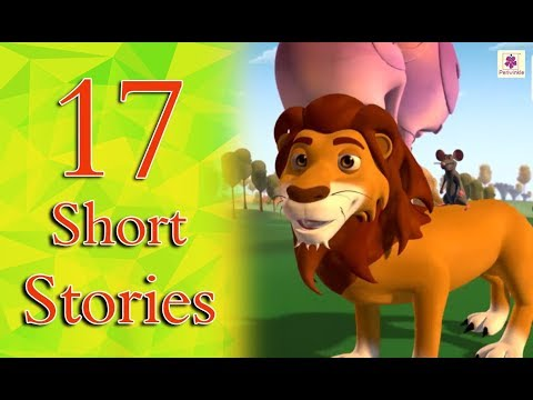 Best English Stories Compilation For Kids | 17 Short Moral Stories Collection | Periwinkle