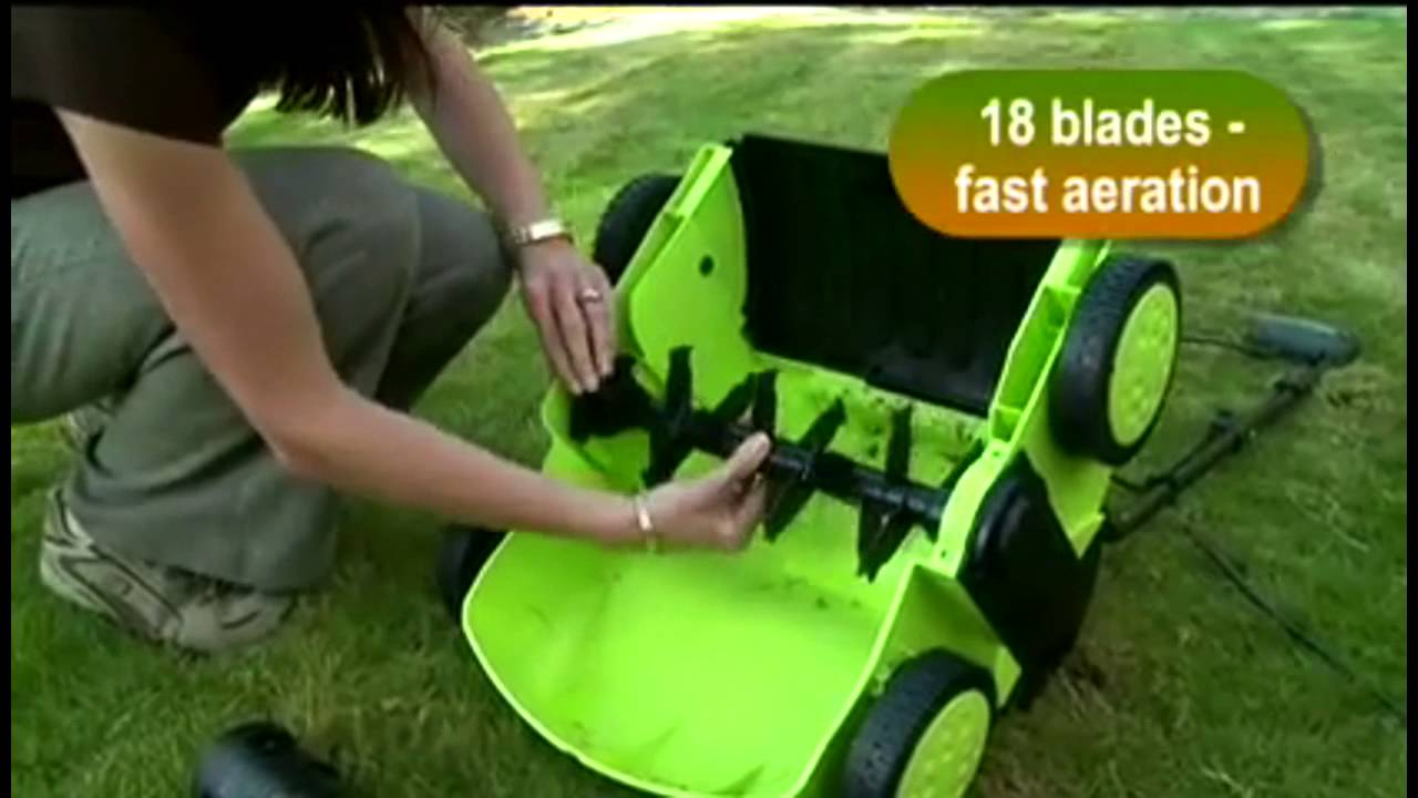 Garden Gear Lawn Rake And Scarifier Youtube