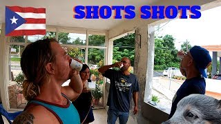 Having Shots w/ Friends in Puerto Rico || Vlog #106
