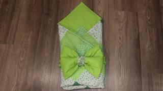 Как сшить бант подушечку на резинке