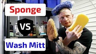 Product SHOOTOUT! Sponge VS. Wash Mitt