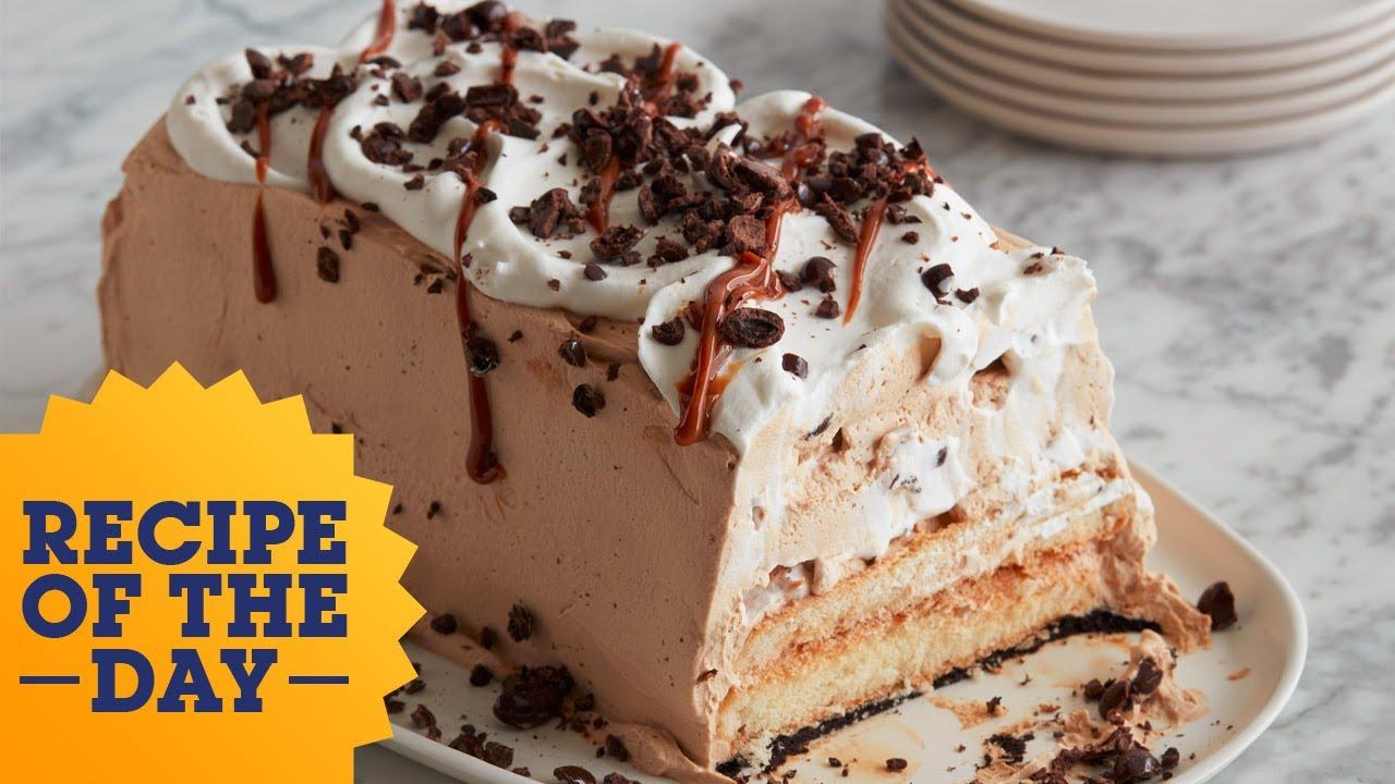 Recipe of the day caramel latte icebox cake food network youtube recipe of the day caramel latte icebox cake food network forumfinder Image collections
