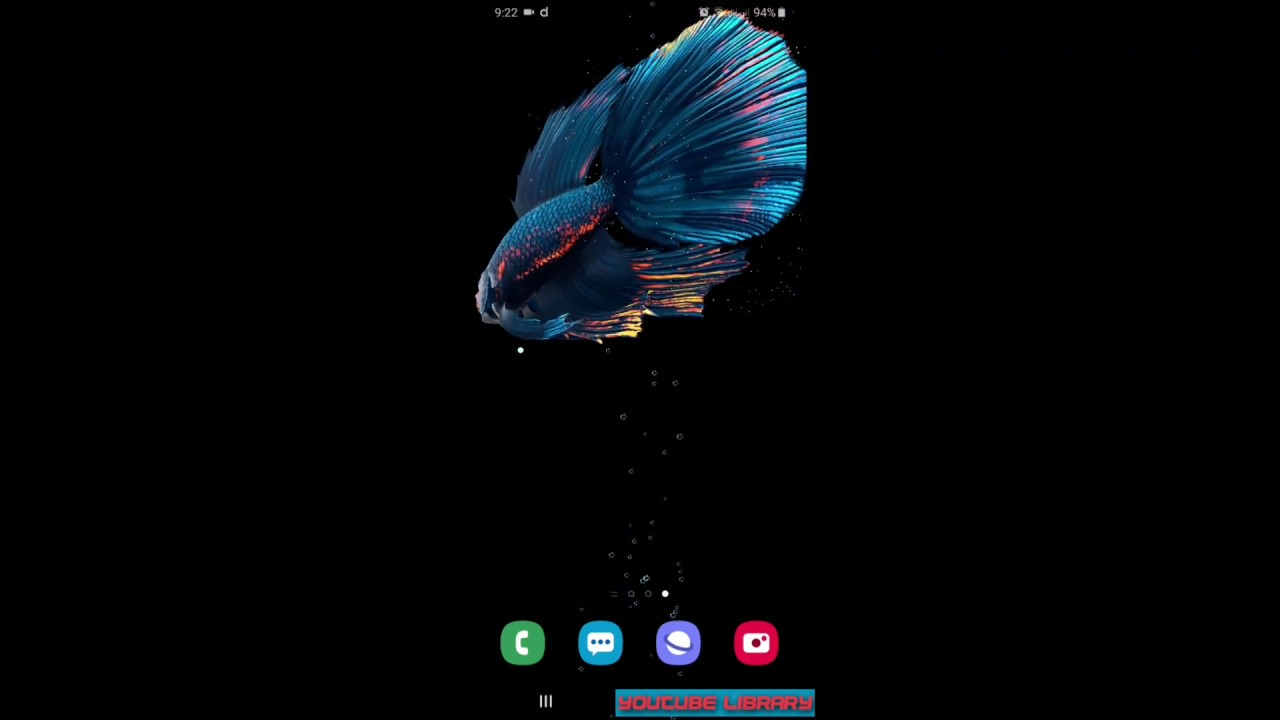 Best Live Wallpaper For Samsung A20 A30 A50 A70 Youtube