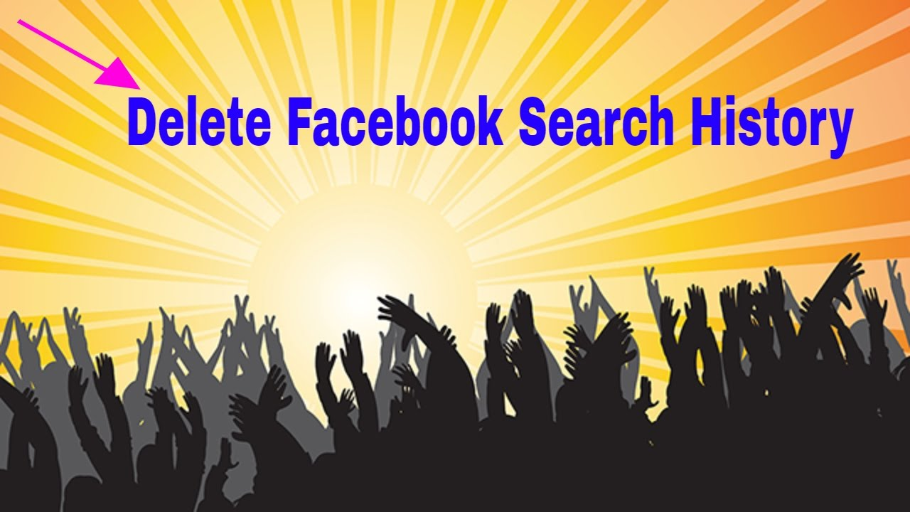 How To Delete Facebook Search History In Telugu By Sridevi