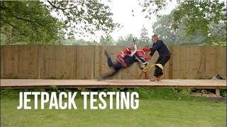 Jetpack testing goes wrong