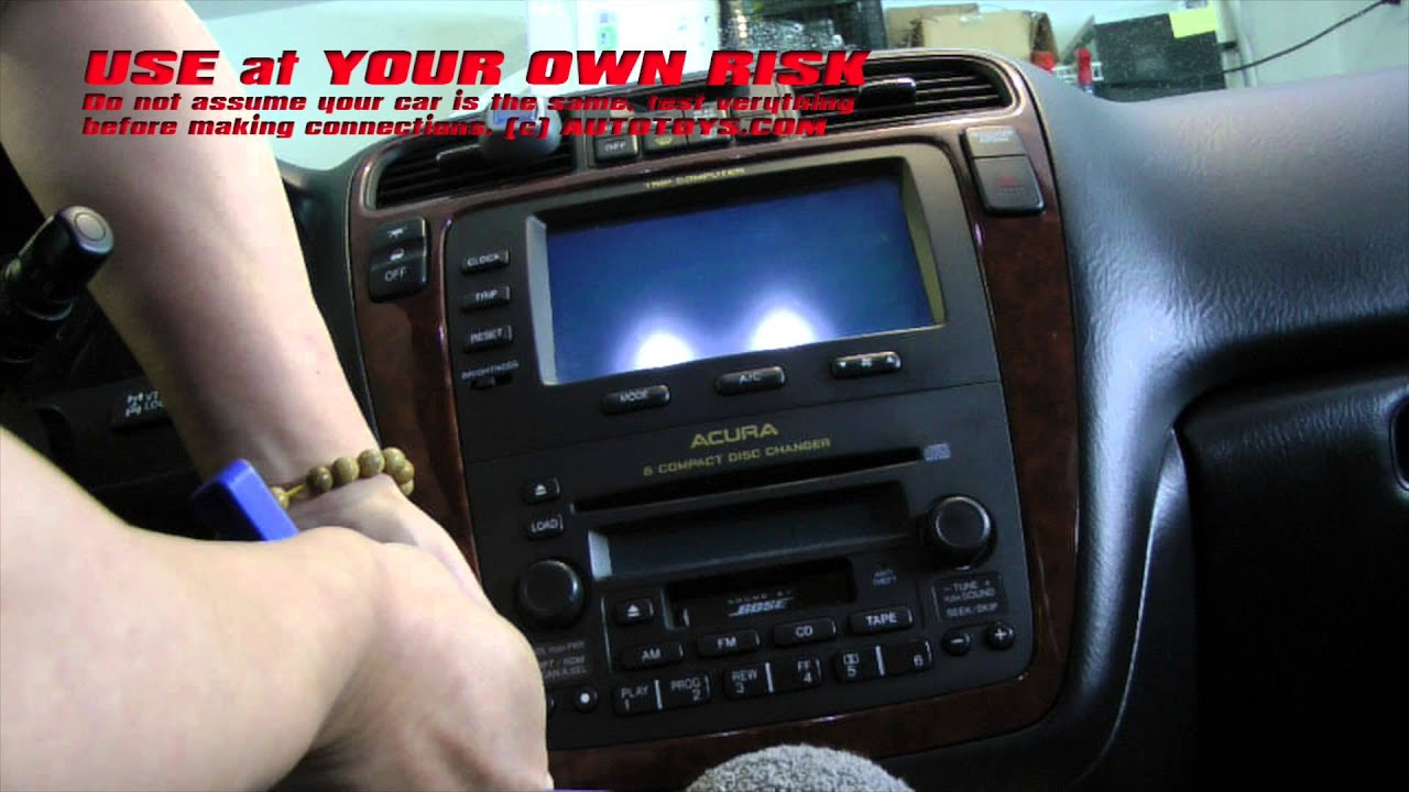 Mdx Pioneer Radio Wiring Schematic Diagrams Harness Sony Mex 5di Acura Installation Uncut Video Use At Your Own Risk Deck