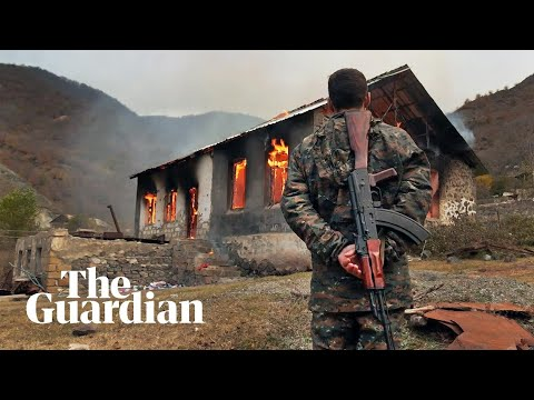 Armenians flee Nagorno-Karabakh after brutal war with Azerbaijan: 'This will not break us'