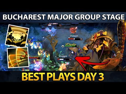 Dota 2 The Bucharest Major - Best Plays - Day 3 thumbnail