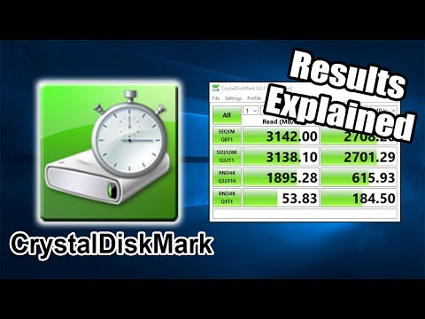 How To Use CrystalDiskMark   What Do The Numbers Mean?