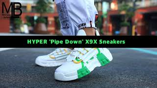 HYPER 'Pipe Down' X9X Sneakers…