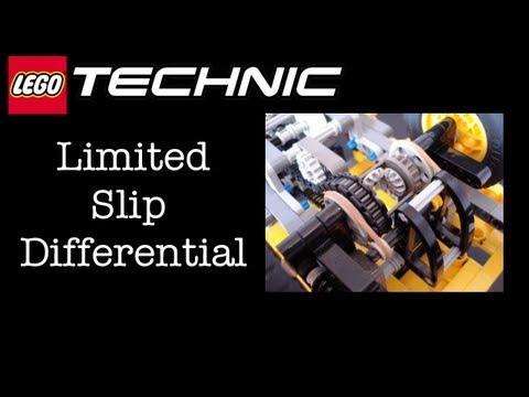 LEGO Technic Custom Flat-bed Truck - Limited Slip Differential (LSD) Operation