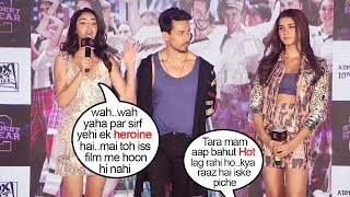 Ananya Panday's JEALOUS Reaction When Reporter Gives More Attention to Tara Sutaria Promoting Soty 2