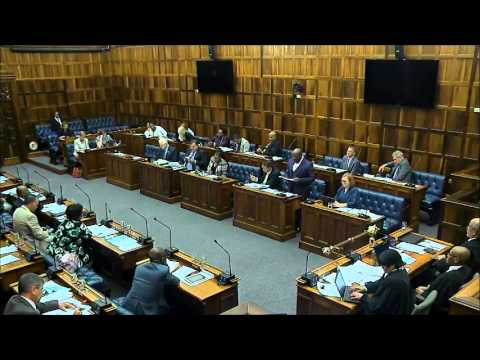 Western Cape Appropriation Bill Vote 8: Human Settlements 29 March 2016
