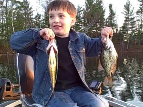 Minocqua Wisconsin Area Fishing Report 4-22-2010
