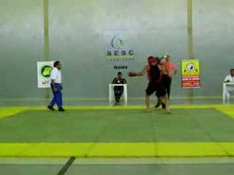 Krishna Raza-Campeonato Goiano de Kung Fu/Wush 2007,2º round