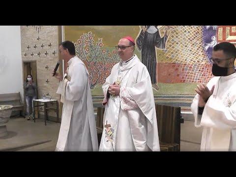 Encerramento das Novenas à Santa Rita de Cássia Presidida pelo Bispo da Diocese Dom Carlos José