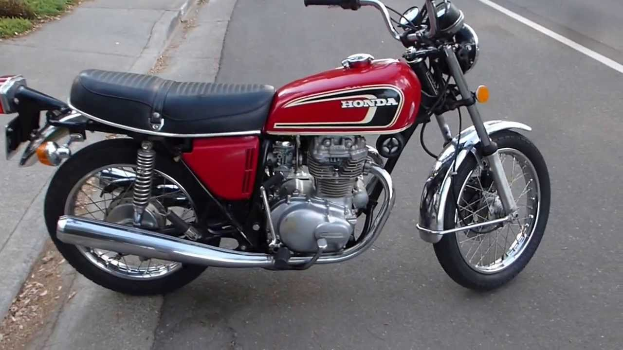 SOLD! `75 Honda CB360T, in Davis, CA - YouTube