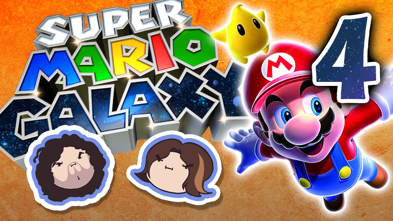 Super Mario Galaxy: Awkward and Dangerous - PART 4 - Game Grumps