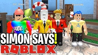 SIMON SAYS: YOUTUBER EDITION!! (Roblox)