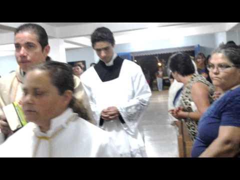 Canto de Entrada - Missa Festa de São Francisco 2014
