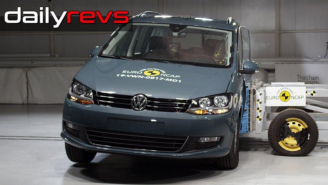 2019 Volkswagen Sharan | Euro NCAP | ⭐⭐⭐⭐ Stars | Crash Test
