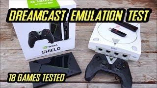SEGA Dreamcast Emulation on Nvida Shield using Reicast APP vR8.1