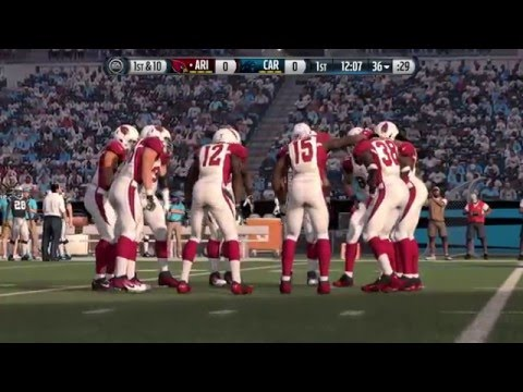 NFC Championship: Carolina Panthers vs. Arizona Cardinals Madden 16 Simulation