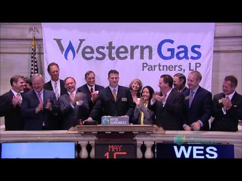 Western Gas Partners Celebrates 5 Years of Trading on the NYSE