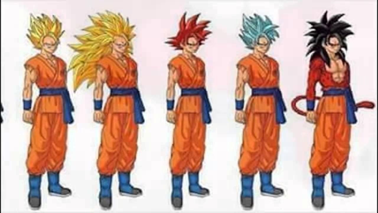Imagenes De Fases De Goku: La Fase Mas Fuerte De Goku