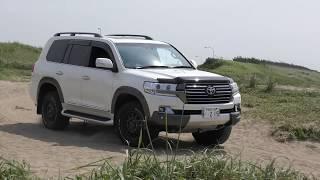 有名な千里浜渚ドライブウェイの少し南、クルマを浜まで降ろしてもよい...