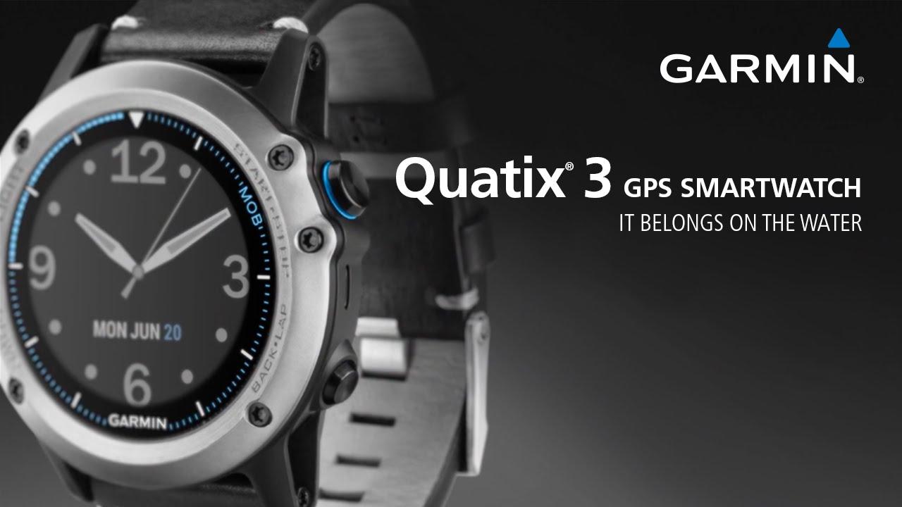 Garmin Quatix 3 The Gps Smartwatch That Belongs On The