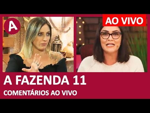 A FAZENDA 11: WebTVBrasileira e Lucas Salles entrevistam Tati Dias - COMENTÁRIOS AO VIVO thumbnail