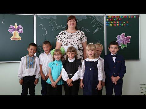 Открытие лаврской школы в с. Никольское 1.9.19 г.