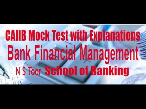 CAIIB BFM Mock Test 1