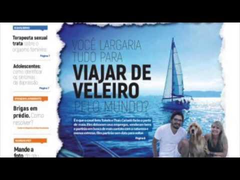 Mais de 25 sites divulgaram nossa história - Sailing Around the World